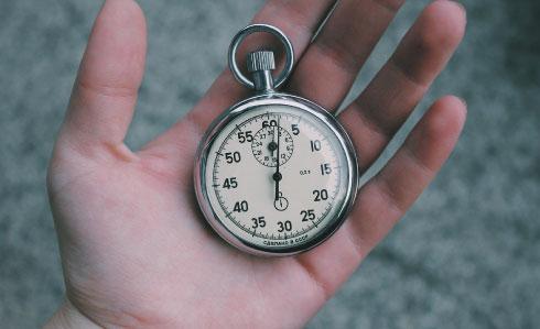 Hvor lang tid tager et sikkerhedstjek