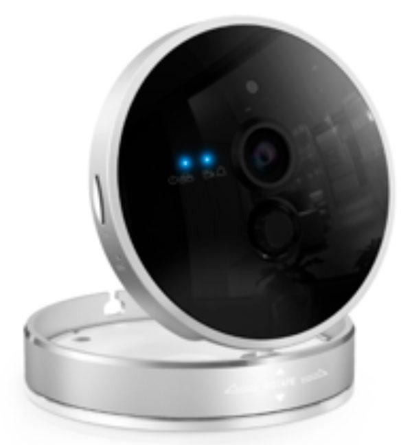 Trådløst HD wifi kamera i stilrent design
